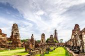 The Wat Mahathat, The Temple In Ruins