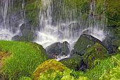 Closeup Waterfall