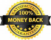 Money Back Satisfaction Guaranteed Badge
