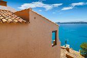 Views Of Mediterranean Sea From Paguera Village