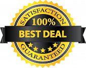 Best Deal Satisfaction Guaranteed Badge