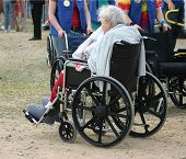 Handicapped Going To Circus