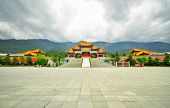 Rebuild Song Dynasty Town In Dali, Yunnan Province, China.