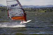Windsurf On Lake