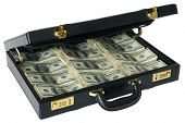Briefcase full of Hundred Dollar Bills