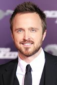 LOS ANGELES - MAR 6: Aaron Paul at the premiere of DreamWorks Pictures' 'Need For Speed' at TCL Chin