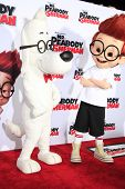 LOS ANGELES - MAR 5: Mr. Peabody, Sherman at the premiere of 'Mr. Peabody & Sherman' at Regency Vill