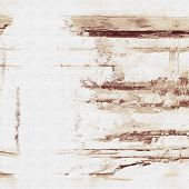 art abstract acrylic background in white and brown colors