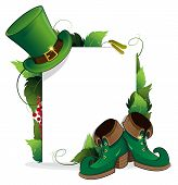 Leprechaun Shoe And  Hat