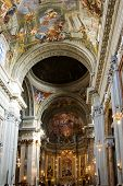 ROME, ITALY CIRCA MAY 2012 - Jesuit church