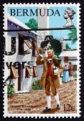 Postage Stamp Bermuda 1984 Joseph Stockdale, English Publisher