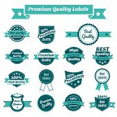 Set of product price tags