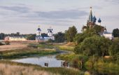 Orthodox Churches And A Symbol Of Mediaeval Russia