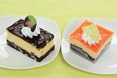 Chocolate Cheesecake And Orange Biscuit Ca