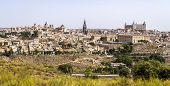 Toledo With River Tajo