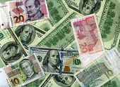 Background. Us Dollars And Croatian Kunas