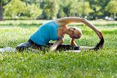 Yoga-Parivrtta Janu Sirsasana/Revolved Head-to-Knee Pose