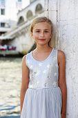 Portrait of fashion girl - Italy, Venice