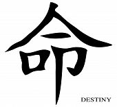 Destiny Chinese Character