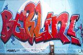 East Side Gallery Graffiti Berlin