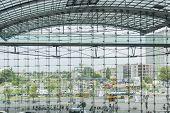 Berlin Hauptbahnhof Train Station