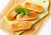 Dutch almond paste filled cookies