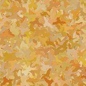 Duck Camouflage - Tan / Orange