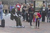 Living Statue Street Artist