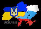 Ukraine Map Ukraine V Russia