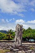 picture of french culture  - A culturally significant site in the south of raiatea island in French Polynesia - JPG