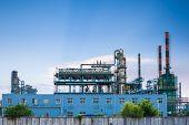 Petrochemical Plant Closeup