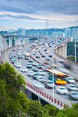 Xiamen Haicang Bridge Closeup