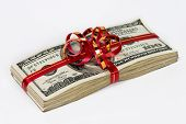 picture of gift wrapped  - Gift - JPG