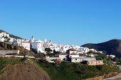 Spanish white town, Canillas de Aceituno.