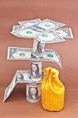 the dollars money