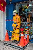 Protective clothing shop