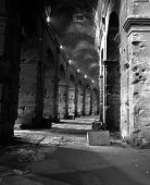 Arches of the Colosseum, Rome.