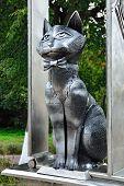 Monument To Zelenograd Cats. Zelenogradsk, Kaliningrad Oblast, Russia