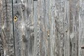 Clear Texture Old Wood Fence With A Conventional