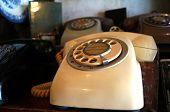 Retro Phone in White