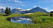 Spitzhorn And Pond
