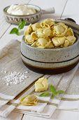 Ravioli With Sour Cream