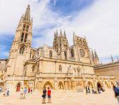 Burgos Cathedral Tourist