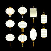 Collection of Chinese lantern