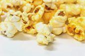 Popcorn snack closeup