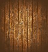 old looking wood panels for background.