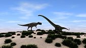 mamenchisaurus versus ceratosaurus