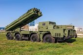 The 9K58 Smerch 300Mm Multiple Launch Rocket System (mlrs)
