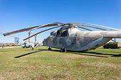 The Heavy Russian Military Transport Helicopter Mi-26