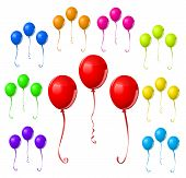 Colorful Balloon Set